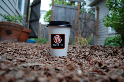 Frontier Cafe Coffee Cup