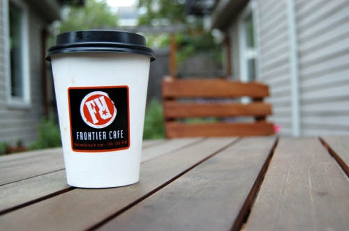 Frontier Cafe Coffee Cup II