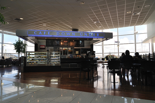 Cafe Down Under at Auckland International Airport