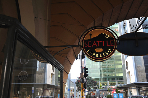 Seattle Espresso Cafe in Auckland