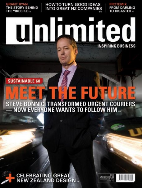 Unlimited Magazine cover